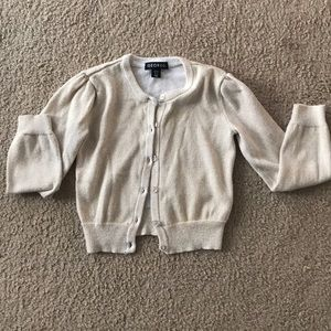 Toddler girl's cardigan